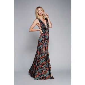 Free people other days maxi dress NWOT